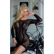 Сукня - Wavy, black - S-L