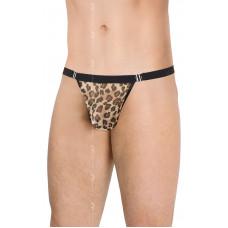 Чоловічі стрінги - Mens Thong 4528, panther, One Size