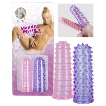 Насадки на пальці - Mandy Mystery Love Fingers, 2 шт.
