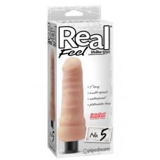 Реалістичний вібратор - Real Feel Lifelike Toyz No. 5, Flesh