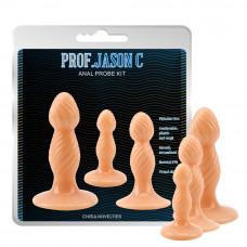 Анальні пробки - Prof. Jason C Anal Probe Kit Penis