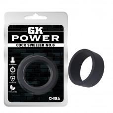 Ерекційне кільце - GK Power Ring Black Cock Sweller No.6