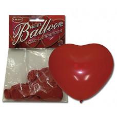 Повітряні кулі - Herzluftballon, 6 шт.
