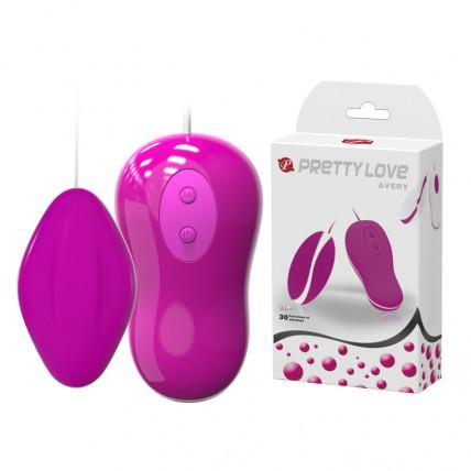 Віброяйце - Pretty Love Avery Vibrating Egg Pink