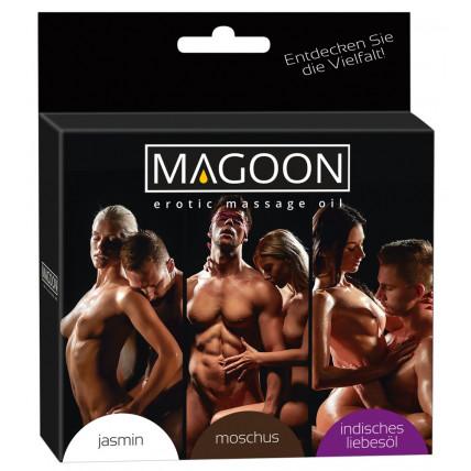 Набір масажних олійок - Magoon Massage Oil Set, 3х50 мл