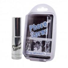 Духи з феромонами для чоловіків - Phero Spray, 15 мл