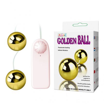 Вагінальні кульки - Golden Ball