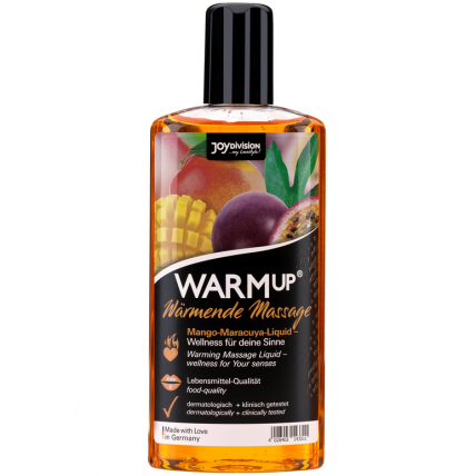 Масажна олійка - WARMup Mango + Maracuya, 150 мл
