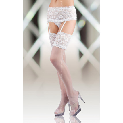 Панчохи - Stockings 5512, white