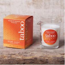 Масажна свічка - TABOO Peche Sucre, 60 г