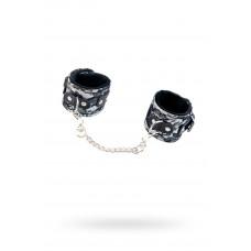 Мереживні наручники Toyfa Marcus, сріблястий, 42 см