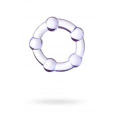 Ерекційне кільце Toyfa A-Toys, силікон, фіолетове