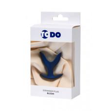 Розширює анальна пробка ToDo By Toyfa Bloom, силікон, синя, 9 см, ø 6,5 см