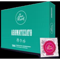 Презервативи - Aromatizzato (Flavoured), 54 мм, 144 шт.