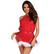 Сукня - Santastic Obsessive, червоний, S / M