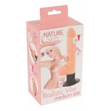 Реалістичний вібратор - Nature Skin Realistic Vibe Medium Size