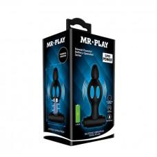 Анальна пробка - Mr.Play Powerful Vibrator Black