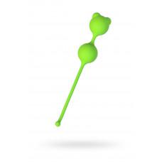 Вагінальні кульки A-Toys By Toyfa, силікон, зелений, ø 2,7 смВагінальние кульки A-Toys By Toyfa, сил