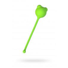 Вагінальний кульку A-Toys By Toyfa, силікон, зелений, ø 2,7 см