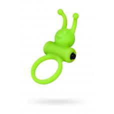 Ерекційне кільце на пеніс A-Toys By Toyfa, силікон, зелений, ø 3,1 см