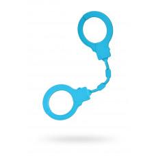 Силіконові наручники A-Toys By Toyfa, силікон, блакитні, 33 см