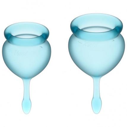 Менструальні чаші - Satisfyer Feel Good Llight Blue