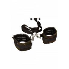 Бондаж - CalExotics Camo Over The Door Cuffs