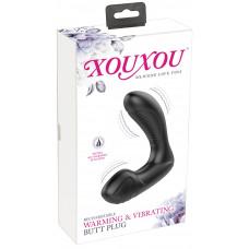 Масажер простати - XouXou Warming & Vibrating Butt Plug