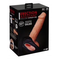 Страпон - Erection Assistant Hollow Strap-On