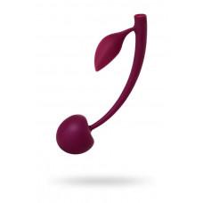 Вагінальні кульки - Wild cherry JOS pleasure ball with a ball inside and flexible tail;