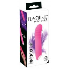 Вібратор - Flashing Mini Vibe Pink