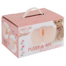Мастурбатор - Nature Skin Pussy & Ass Masturbator