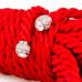 Мотузка для бондажа Premium Silky 5M Red
